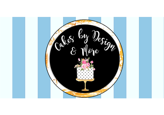Cakes By Design & More logo